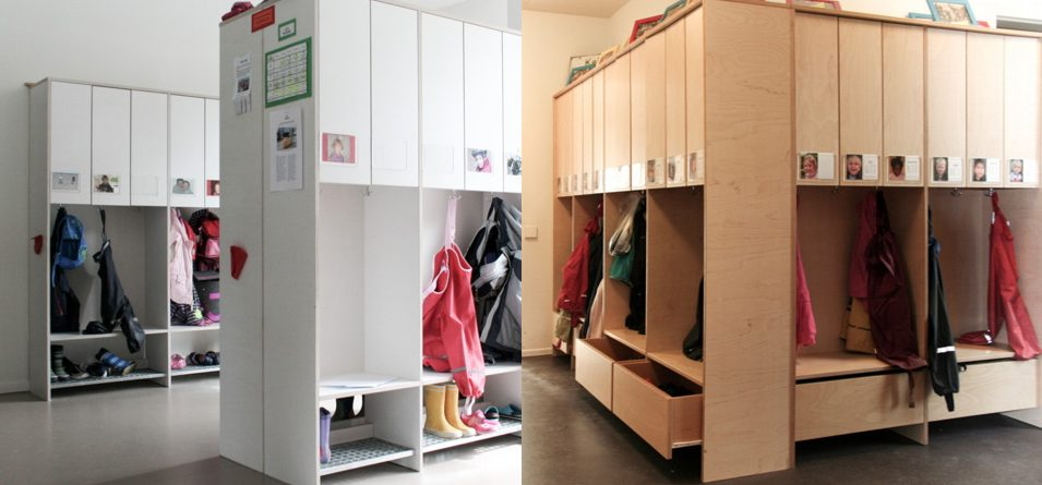 Kindergarten Mobiliar Einbauschrank Hamburg